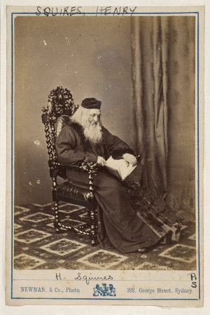 Henry Squires, American tenor, as the old Faust, [1870-1880] / Newman & Co., Photo., 392 George Street, Sydney ; J.R. Clarke, publisher & importer of photographs, 317 George St., Sydney
