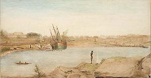 Item 01: [Sydney Cove], 1808 / by J.W. Lewin