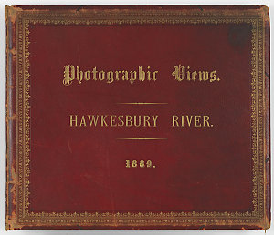 Photographic Views. Hawkesbury River. 1889 / Charles Potter