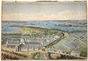 Garden Palace, Sydney / drawn by J. T. Richardson