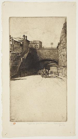 Item 03: Argyle Cut from the West, 1916 / Sydney Ure Smith