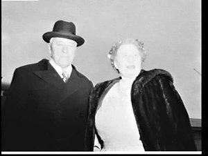 Sir Norman and Lady Brookes, Mascot