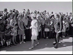 Official opening of the Sydney Opera House