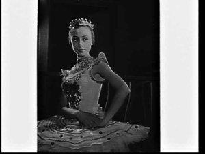 Ballerina Svetlana Beriosova, Royal Ballet, at the Empire Theatre