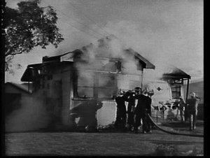 Fire destroys a fibro cottage, Laurel Chase, Forestville