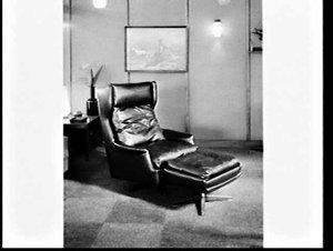 Robert Wilson furniture stand, Furniture Show 1968, Sydney Showground