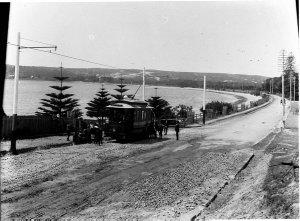 Rose Bay electric tram terminus