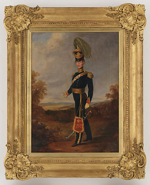Colonel James Nunn, Australian Mounted Infantry, ca. 1840 / attributed to Joseph Fowles