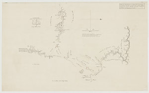 A continuation of the country to the westward of the Blue Mountains in New South Wales discovered in May & June 1815 [cartographic material] / by George William Evans.