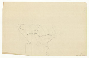 [Myles Dunphy tracings of unknown location believed to be in New South Wales] [cartographic material] / [Myles Dunphy]
