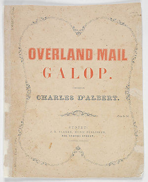 Overland mail galop