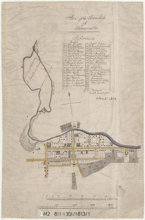 Plan of the Township of Parramatta [cartographic material] / G. W. Evans Acting Surveyor.