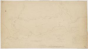 Plane chart of Macquarie Harbour on the West Coast of Van Diemens Land [cartographic material] / by G. W. Evans Dep.y Surveyor General 1819.