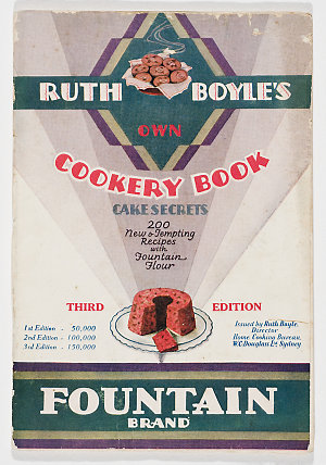 Ruth Boyle's own cookery book / issued by Ruth Boyle.
