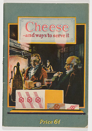 Cheese : the ideal food, healthful, nutritious, economical ; many delicious ways serve it.