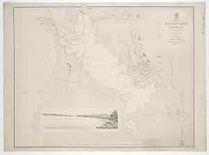 Macquarie Harbour [cartographic material] / by G.W. Evans Deputy Surveyor 1822.