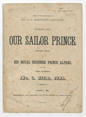 National Song: Our Sailor Prince