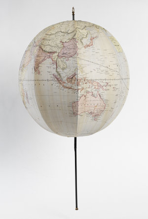 Bett's new portable terrestrial globe [cartographic material] compiled from the latest and best authorities / John Betts.