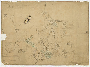 Plan of the settlers lots and the ground cultivated for the use of the publick on Norfolk Island, 1794 [cartographic material] / Wm Neate Chapman.