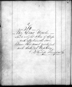 Philip Herapath - Journal of a voyage from London to Auckland, 14 Feb. - 4 June 1857, with a copy of a letter, 23 Dec. 1859