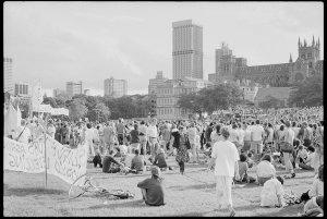 Item 0805: Tribune negatives including peace march, Sydney, New South Wales, April 1984