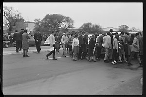 Item 049: Tribune negatives including demonstration at University of New South Wales, and anti-Vietnam War demonstration, Sydney, New South Wales, August 1965