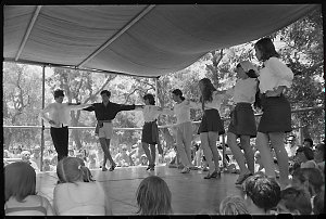 Item 503: Tribune negatives including spectators and participants at sports carnival and festival, Sydney, NSW, ca. 1970
