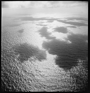 File 17: Cloud shadow over Coral Sea, '42 / photographed by Max Dupain