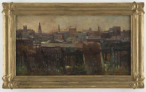 The Old Cemetery, Devonshire Street, 1894 / Julian Rossi Ashton