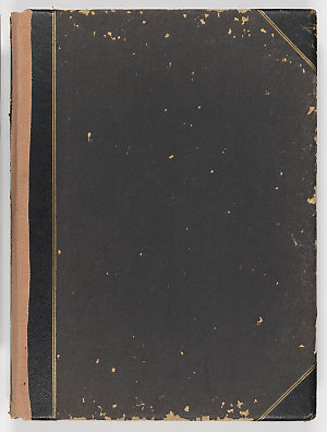 Box 5: World War I photograph album of Dene Barrett Fry and Alan Fraser Fry, including portraits as children, and scenes in Egypt, Turkey, and South Africa, ca. 1898-1916