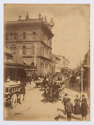Sydney street life, harbour and beach scenes, domestic animals, ca. 1880s-1900 / photographed by Arthur Syer