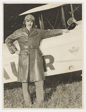 Sir Hudson Fysh - photographs, early flights and personalities, ca. 1920-1945