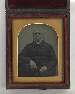 File 1: [Dr William Bland, ca. 1845 - portrait]