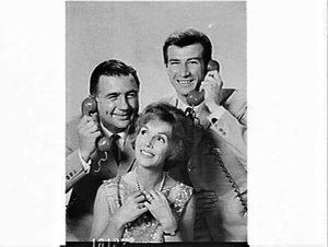 APA studio photograph of the cast of the Mavis Bramston Show for TV Times 3 February 1965