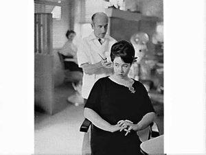 Hairdressing for Australasian Post magazine, Edward Jacques salon