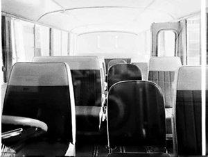 Interior, Thiess Toyota minibus for Jill Toplis' Corowa-Melbourne bus service