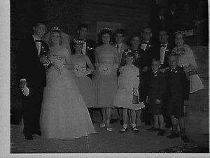 Perkins wedding, Hurstville
