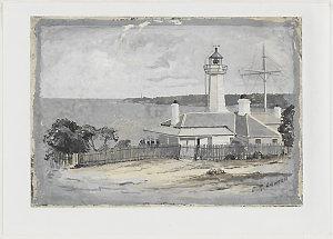 Green Cape Lighthouse ca. 1886 / Julian Rossi Ashton