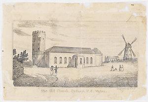 The Old Church, Sydney, N. S. Wales, 1834 / William Wilson