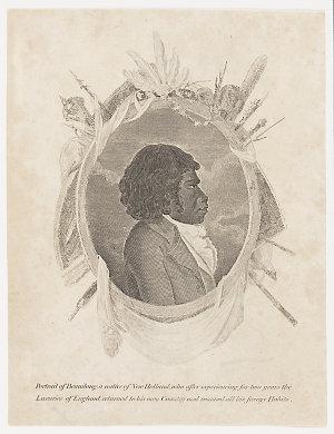 Portrait of Bennilong [i.e. Bennelong]..., 180-?
