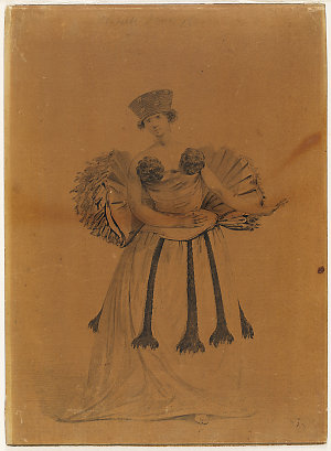 [A young woman of Otaheite, dancing, ca. 1777 / drawn by John Webber]