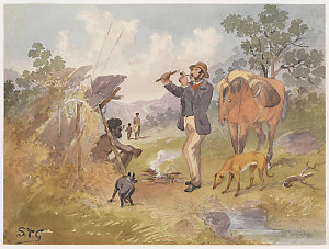 The pipe light, 1800-1899 / Samuel Thomas Gill