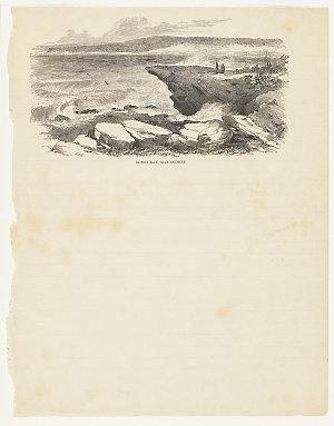 Bondi Bay, near Sydney [a view], 1853-1865 / Samuel Thomas Gill, engraved by W.G. Mason