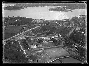 Item 12: Milton Kent aerial views of Abbotsford, Alexandria, Castlereagh/Richmond, Matraville, Redfern, Strawberry Hills, 194-