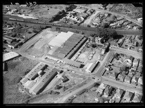 Item 19: Milton Kent aerial views of Arncliffe, Balmain, Blacktown, Fairfield, Liverpool, St Leonards, 1961