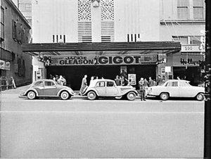 Century Theatre 1962 with the film Gigot