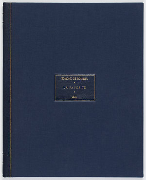 Edmond de Boissieu manuscript written on board La Favorite on the Laplace voyage, detailing Sydney society, ca. 1831