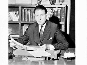 Portrait of Mr. Beckman, Secretary, Swedish Chamber of Commerce in Sydney