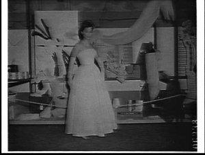 Toyo Rayon fashions and fabrics, Japan Trade Fair, Trocadero, 1959