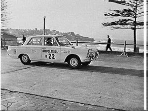 Start of the 1964 Ampol Trial, Bondi Beach